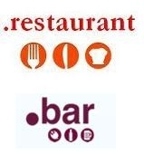 New TLDs are available for request: .restaurant and .bar