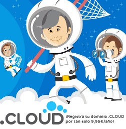 Register your .CLOUD domain for 9.95 €